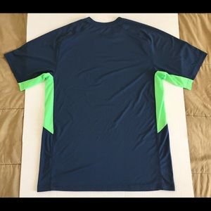 Nike Shirts - Nike Dri-Fit Navy Athletic Fitness T-Shirt Large
